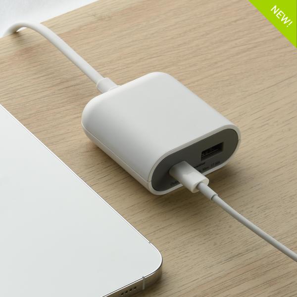 prolunga Gummy Line con presa USB tipo C, ultra potente.