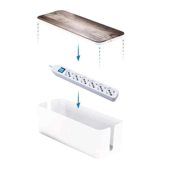 Multipresa con Box organizer