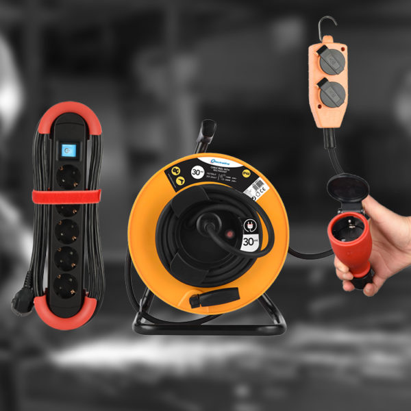 Professional Cable reels and Extension cords
