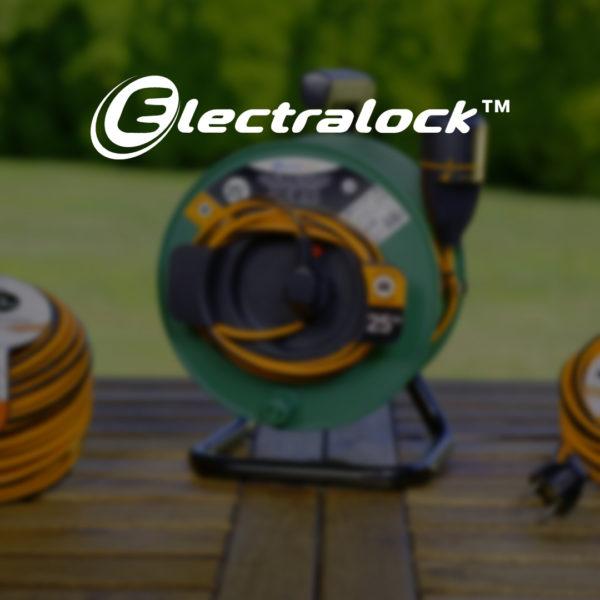 Electralock™: presa elettrica con meccanismo di blocco